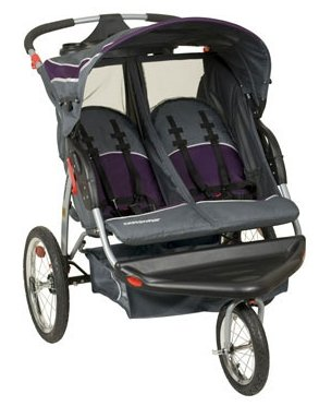 Baby Trend Double Jogger W/Speakers - Elixer