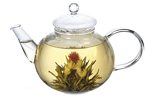lifeyz-250ml-teapot-86oz-one-cup-of-tea-clear-small-glass-teapot-strainer-lid-heat-resistant-tea-pot