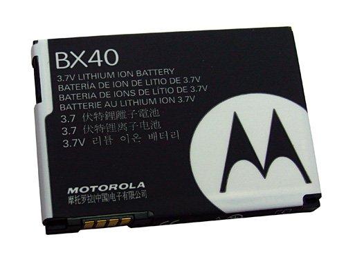 Accumulatore BX40, Li-Ion, 740mAh originale Motorola ZN5 RAZR2 V8 MOTO U9 ecc.
