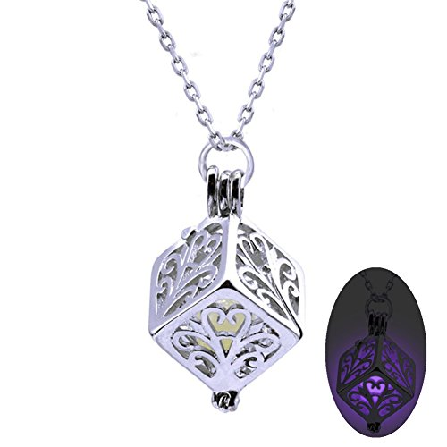 z-p-fancy-dress-party-crystal-snakes-glow-at-night-resin-necklace