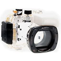 CameraPlus - High Performance Underwater Case Camera Housing Diving For Canon Powershot S100 Up To 40 Meters(130ft.) - Replaces Canon WP-DC43
