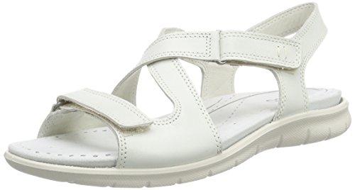 ECCO Babett Sandal Sandali con Cinturino alla Caviglia, Donna, Bianco(Shadow White 1152), 40