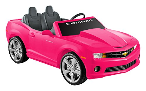 National Products 12 Chevrolet Camaro Ride-on - Pink (Kids Camaro Car compare prices)