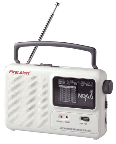 Sima First Alert NOAA WX-17 Portable Emergency AM/FM Radio