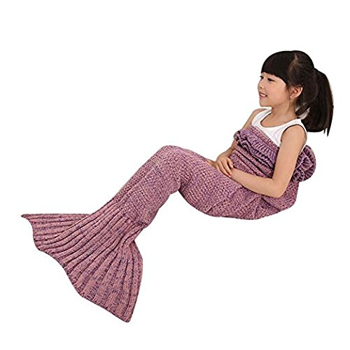 mermaid-tail-blanket-for-kids-toddler-polyester-crochet-knitting-sleeping-bag-blanket-soft-warm-and-