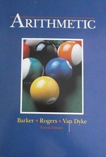 Arithmetic, Barker, Jack