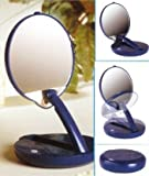 15X Lighted Adjustable Travel Mirror