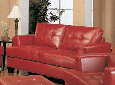 Loveseat Sofa With Wooden Legs Contemporary Red Leather Amazon Price:  $997.10 $414.55 Buy Now (price As Of Jun 27, 2014)