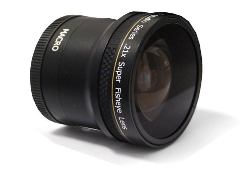 Plr Studio Series .21X Super Fisheye Lens With Macro Attachmentfor The Nikon D5300, D5000, D3000, D3200, D5100, D5200, D3100, D7000, D7100, D4, D800, D800E, D600, D610, D40, D40X, D50, D60, D70, D80, D90, D100, D200, D300, D3, D3S, D700, Digital Slr Camer