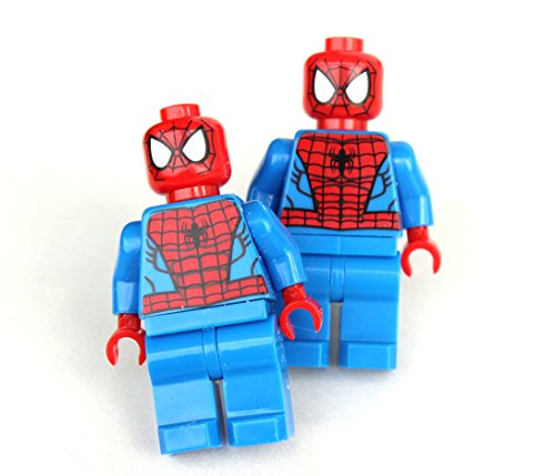SPIDERMAN Men's Cufflinks - Minifigure - Lego® - Marvel Deadpool - Perfect For The Man In Your Life - Dad - Geekery - By GlazedBlackCherry