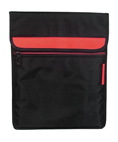 Saco Laptop Vertical Envelope Sleeve Bag Case Cover with shoulder strap forLenovo Yoga 300 80M0007KIN 11.6-inch Laptop -Orange