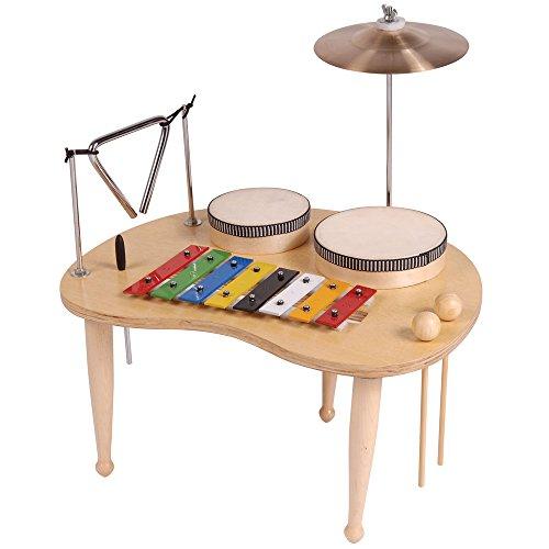 Performance Percussion PP530 - Tavola percussioni con metallofono, per bambini