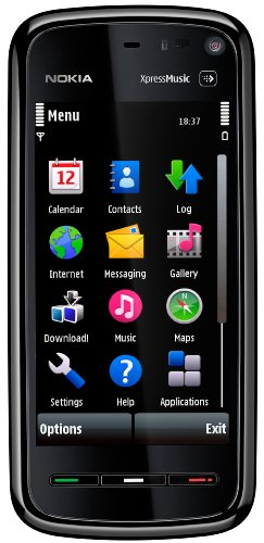 Nokia 5800 XpressMusic Unlocked Phone with U.S. 3G,  GPS with Free Voice Navigation, Wi-Fi, and 4 GB MicroSD Card--U.S. Version with Warranty (Black)
