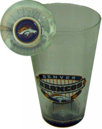Denver Broncos 17 Oz. Glass женская рубашка triangle wardrobe 1003 2015