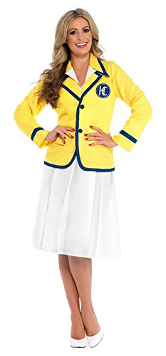 Holiday Rep - Yellow Coat - Adult Fancy Dress Costume - Sizes 8 to 22