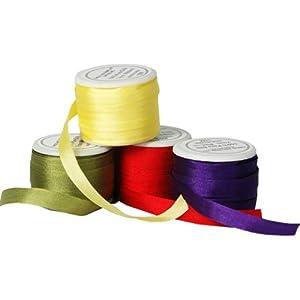 Silk Ribbon No. 706 - 7mm Kiwi Green