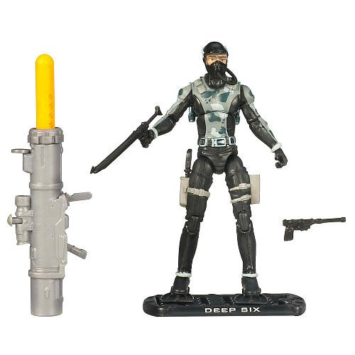 Buy Low Price Hasbro G.I. Joe The Rise of Cobra 3 3/4″ Action Figure Deep Six (Combat Diver) (B002GBQT7Y)
