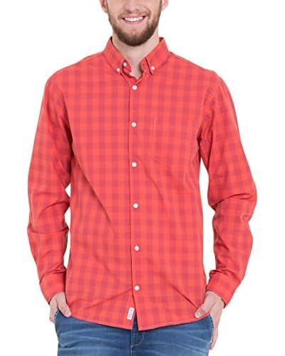 BIG STAR Camisa Hombre Afrir_Shirt_Ls 615 S Rojo