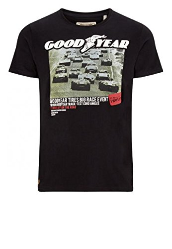 Good Year T-shirt da uomo RENO Comfort Fit T-Shirt - black multicolore S