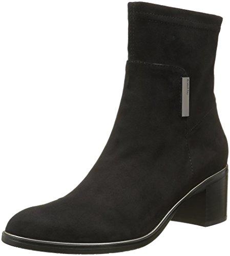 Jb MartinBook - Stivali classici alla caviglia Donna , Nero (Noir (T Suede Bloque/St Noir)), 40