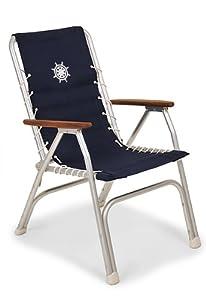 Amazon.com : FORMA MARINE High Back Deck Chair, Boat Chair, Folding