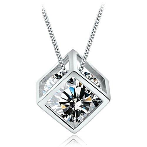 cat-eye-jewels-women-925-sterling-silver-square-cube-cut-clear-cubic-zirconia-diamond-pendant-neckla