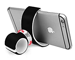 Car Mount, AlienGear All in One Multifunctional Phone Mount, Pole Mount, Bike Mount, Desk Mount, Shelf Mount, Air Vent Mount, Driver Mount, Headrest Mount, Stroller Mount, Desk Mount (Black)