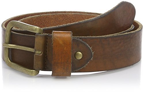 SELECTED HOMME - 16044487, Cintura da uomo, marrone (braun  (cognac)), 95 cm (taglia produttore: 95)