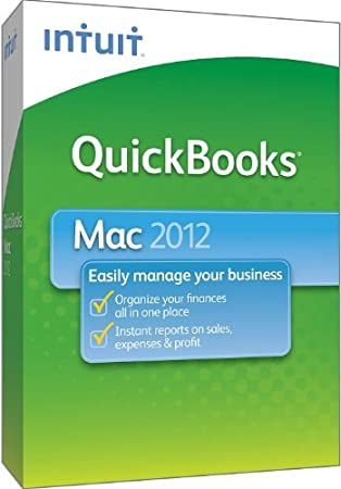 QuickBooks for Mac 2012 [OLD VERSION]