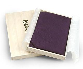 きものやさん 定番!絹ふくさ(紫)