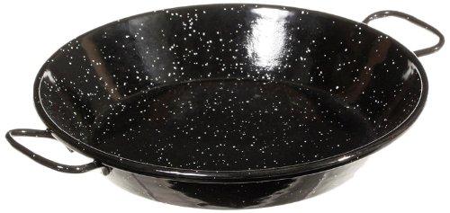 Garcima 8-Inch Enameled Steel Paella Pan, 20cm
