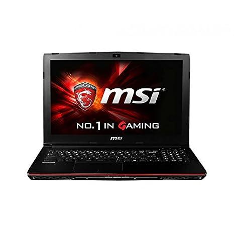 """MSI GP62 2QD-224FR(Leopard) Ordinateur portable Non tactile 15""""(38,10 cm) Noir (Intel Core_i7, 4 Go de RAM, 1 To, Nvidia Geforce GT940M, Windows 10)"""