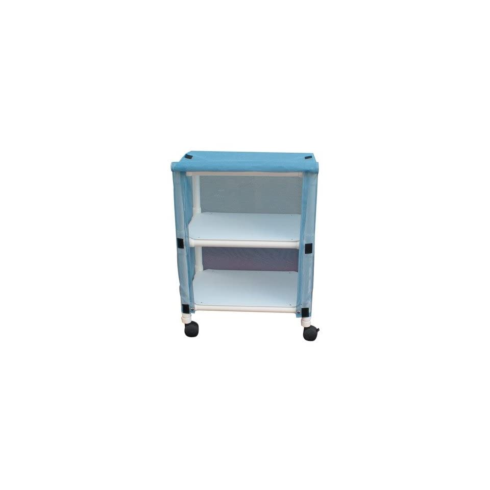 Echo Linen Cart with Cover Number of Shelves 2, Color Mauve, Cover Type Vinyl