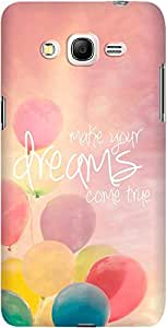 DailyObjects Make Your Dreams Come True Pink Case For Samsung Galaxy Grand Prime