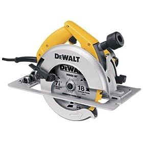 DEWALT DW364K 7-1/4-Inch Heavy-Duty Circular Saw with Electric Brake