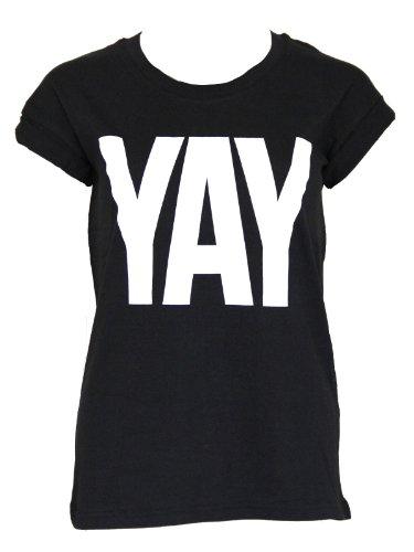 Sally & Circle Price Yay T-Shirt black M