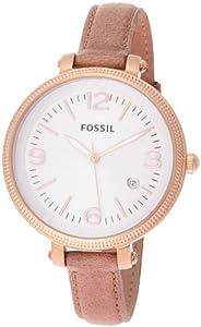 Fossil Heather Three Hand Leather Watch - Sand Es3133