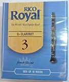 Rico Royal Eb Clarinet Reeds. Box Of 10 . Strength 3