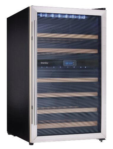 Danby Dwc113Blsdb 38 Bottle Wine Cooler -Stainless Steel back-7274