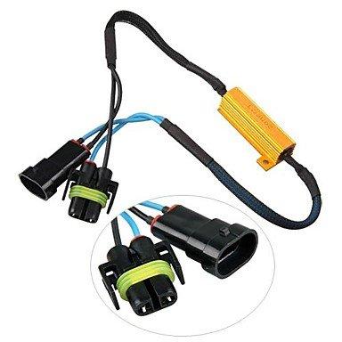 2PCS H8 H11 LED Turn Singal Resistor 50W 6OHM Canbus Error Free for BMW Audi