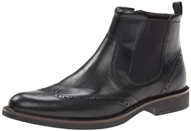 ECCO Men's Biarritz Chelsea Boot,Black,46 EU/12-12.5 M US