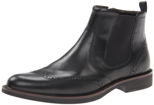 ECCO Shoes Mens Biarritz Chelsea Boots 63011401001 Black 10.5 UK, 45 EU