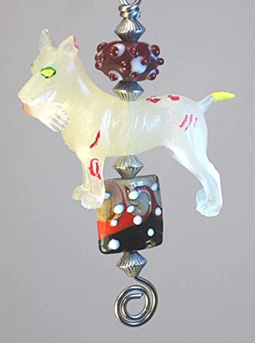 Walking Dead Zombie Dog With Arm Limb in Mouth Glow in the Dark Ceiling Fan Pull / Light Pull