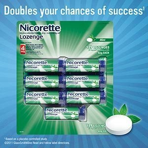 Nicorette 4mg Mint 7 Poppac 189 Lozenges