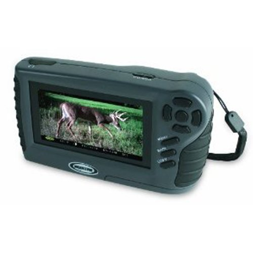 Moultrie Feeders Co Handheld Viewer Deluxe Dual Sd Card Slots Mini Usb Connection Headphone Jack