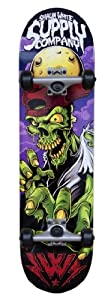 Shaun White Supply Co. Street Series Complete Skateboard, Zombie from Division 6 Sports Inc.