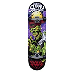 Buy Shaun White Supply Co. Street Series Complete Skateboard, Zombie by Shaun White Supply Co.