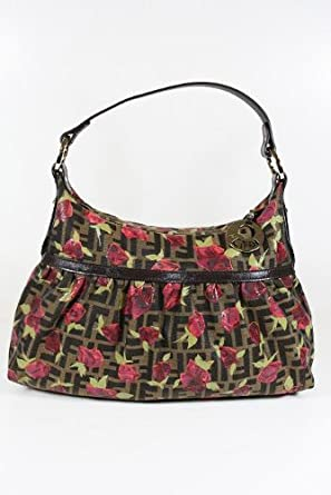 Fendi Handbags Chef Zucca Rose and Calf Leather 8BR448 (LIMITED)