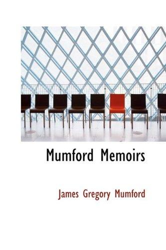 Mumford Memoirs