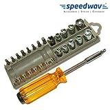 Speedwav 28 in 1 Multipurpose Screw Driver For Car Bike